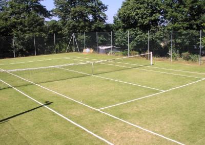 Le parc du Domaine de Keravel - Tennis