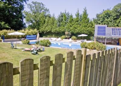 La piscine du Domaine de Keravel