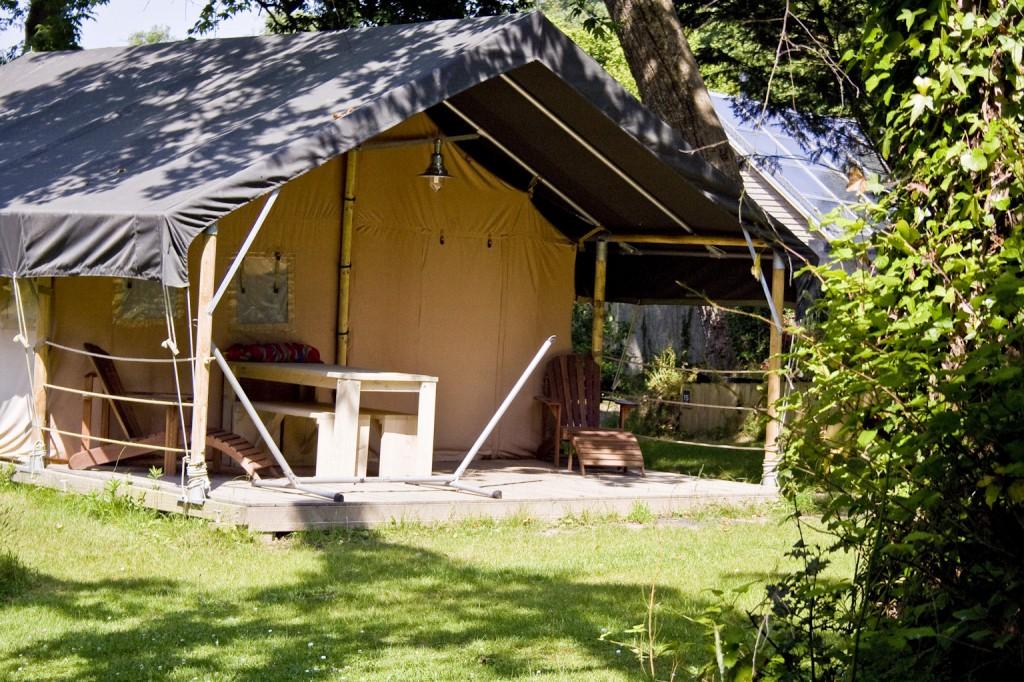 Tentes de luxe Safari de 42 m2, pour 2 à 6 personnes