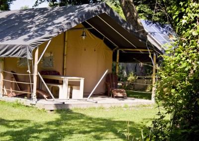 Tentes de luxe Safari de 42 m2, pour 2 à 5 personnes