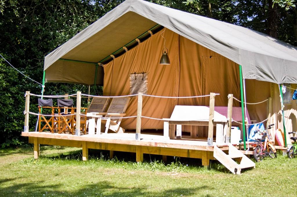 Tentes de luxe Safari de 54m2, pour 2 à 5 personnes